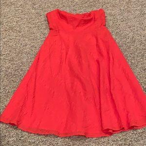 women's J Crew strapless dress